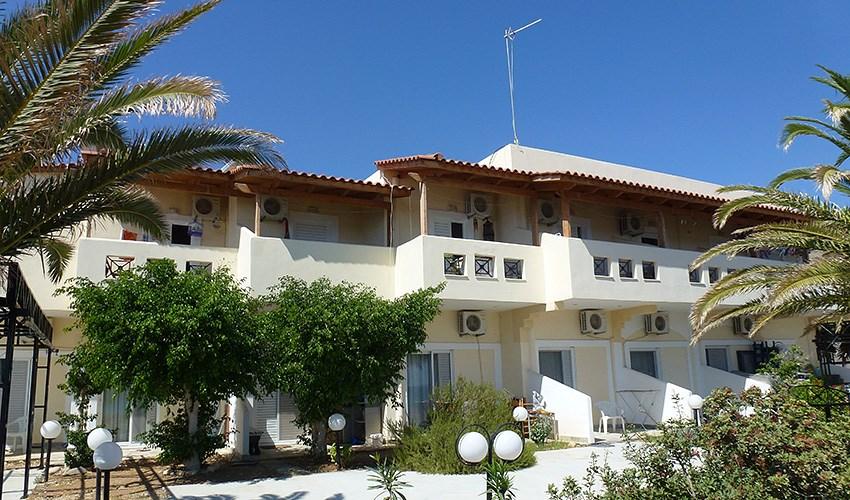 Apartmánový dům Ammos Beach -