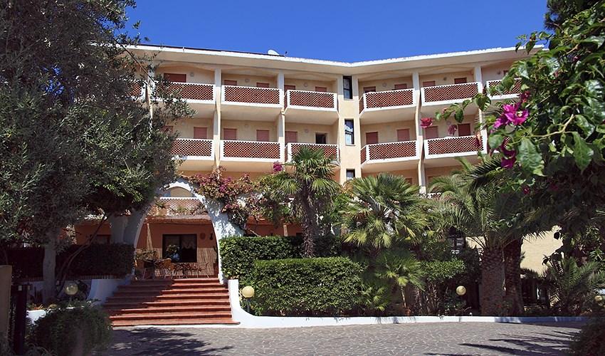 Hotel Punta Faro - Kalábrie