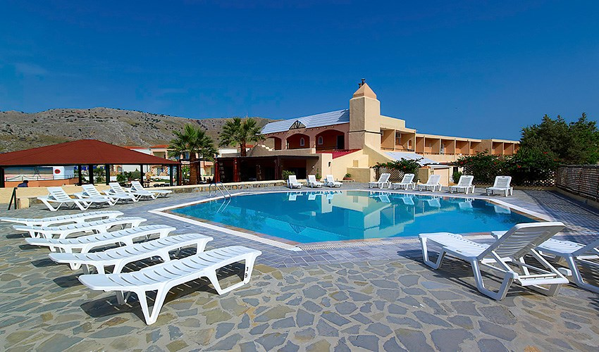 Hotel Sun Beach Lindos - Rhodos