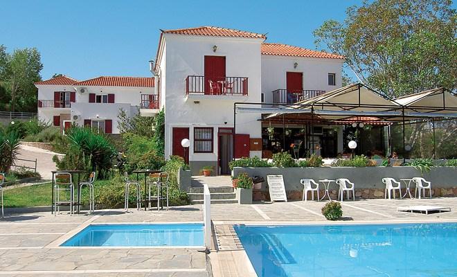 Apartmánový dům Gorgona - Lesbos