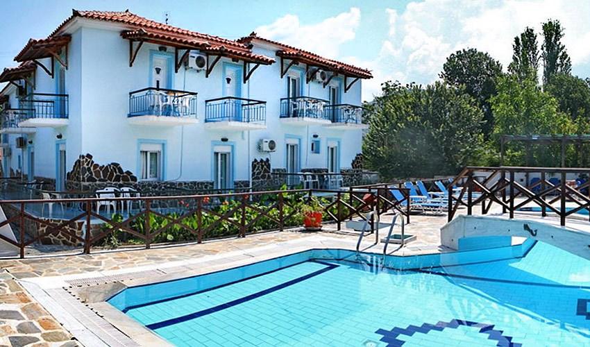 Apartmánový dům Paradise - Lesbos