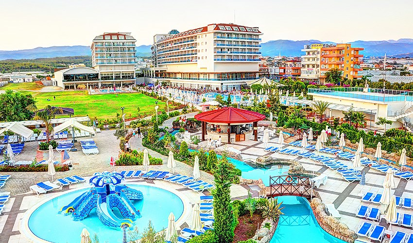 Hotel Kahya Resort Aqua & Spa - Turecko