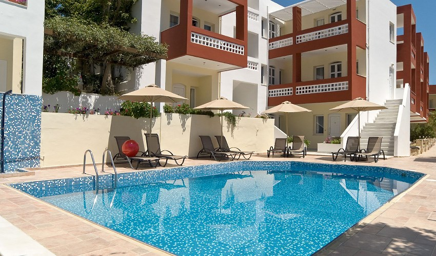 Apartmány Troulis - Kréta