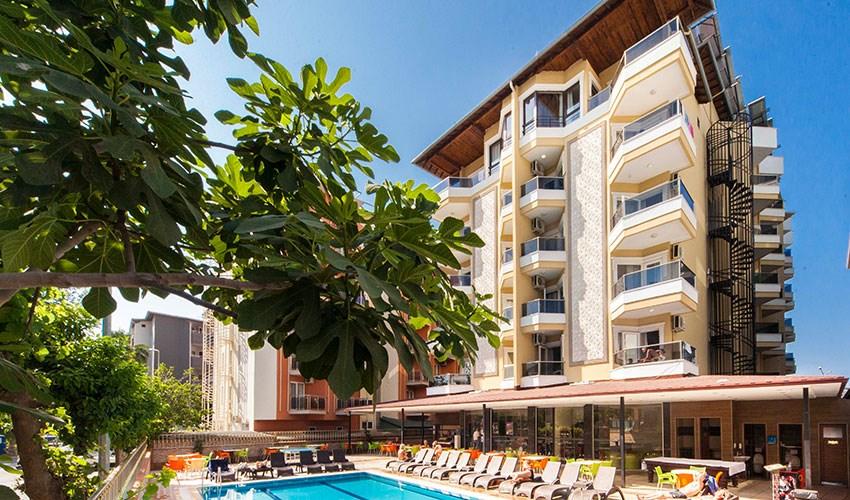 Hotel Kleopatra Ada Beach - Turecko