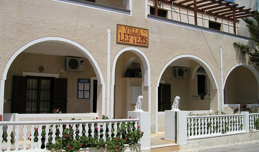 Apartmánový dům Villa Lefteris - Santorini