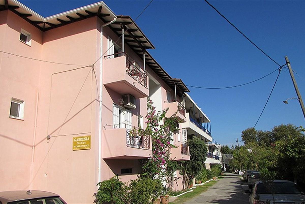 Apartmánový dům Gardenia - Santorini