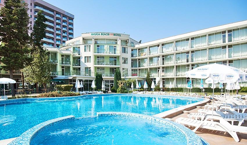 Hotel Avliga Beach - Bulharsko