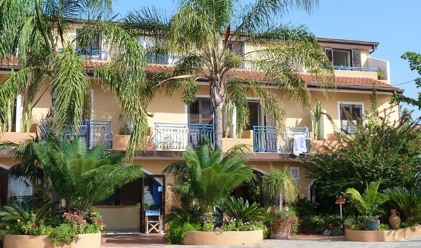 Hotel Grotticelle - Kalábrie