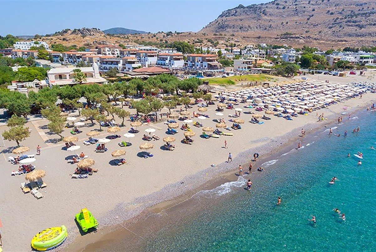 Hotel Sun Beach Lindos - Kréta