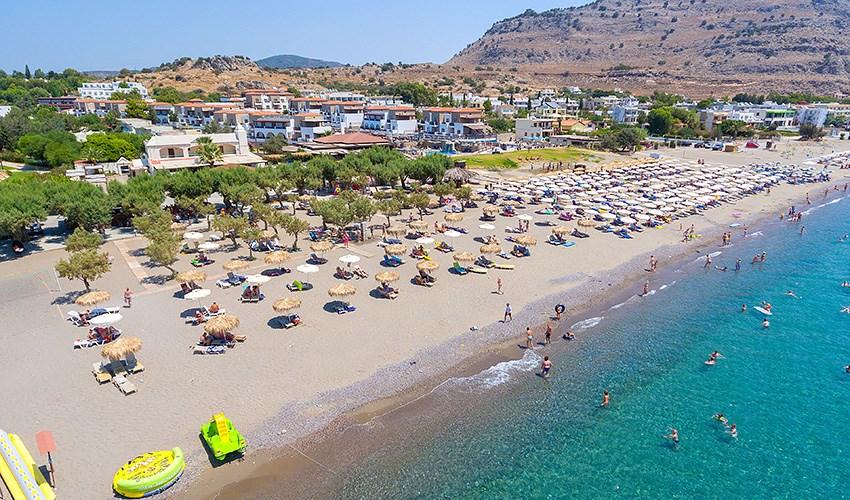 Hotel Sun Beach Lindos - Santorini