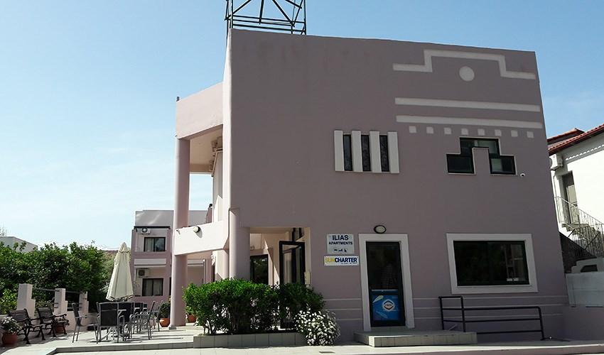 Apartmánový dům Ilias - Kréta