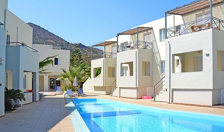 Apartmánový dům Blue Horizon - Kréta