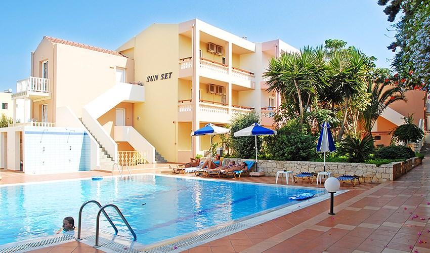 Apartmánový dům Sunset - Karpathos